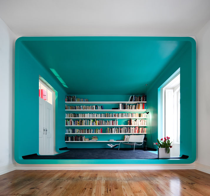 GMG House Pedro Gadanho 1 Multicolor and Contemporary Interior in Portugal