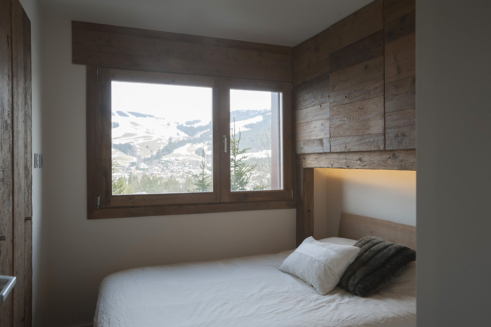 megeve apartment hqroom ru 4 Rustic Mountain Chalet Apartment
