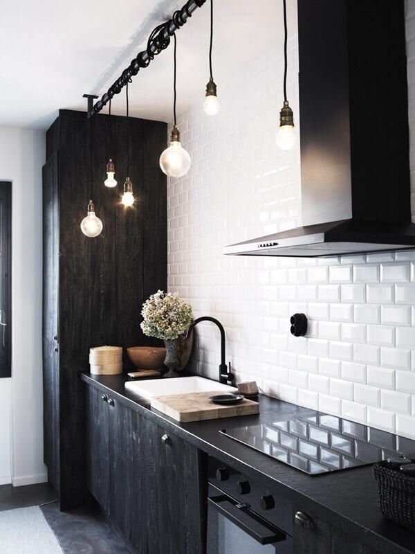 Beautiful Black White Kitchen Tumblr Collection #6