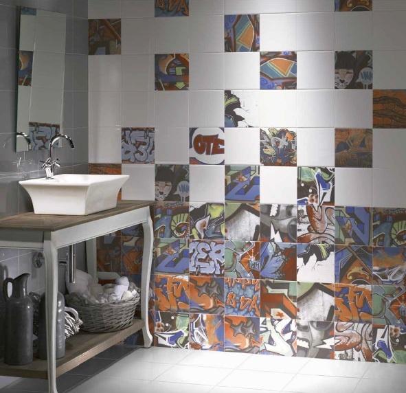 Graffiti Tiles 10 Ideas Of Decorating With Graffiti