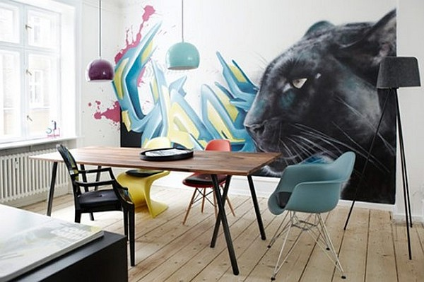 %name 10 Ideas Of Decorating With Graffiti
