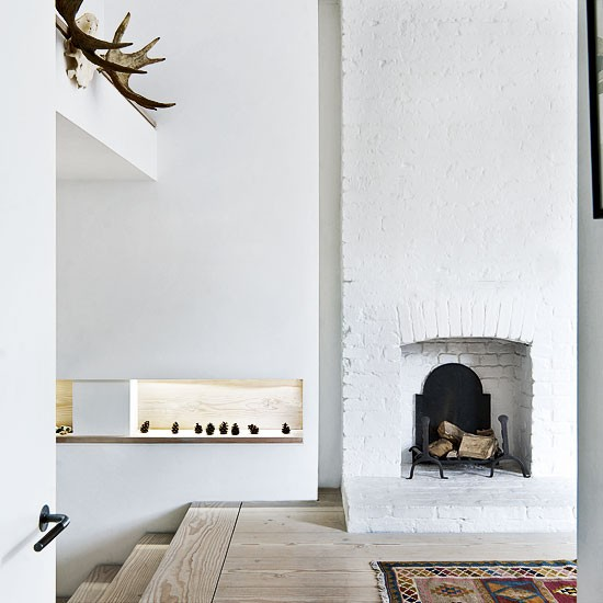 interior house london terrace 3 Soft White in East London
