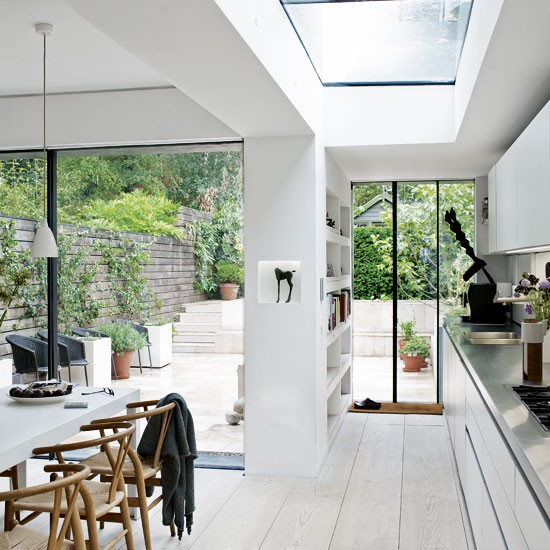 interior house london terrace 4 Soft White in East London