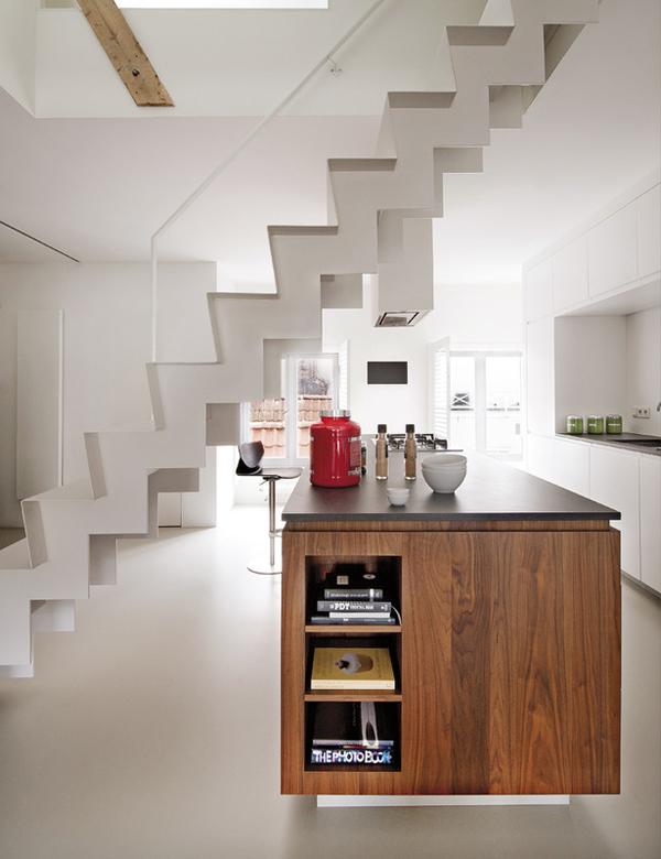 modern apartment 5 Modern Loft in Amsterdam