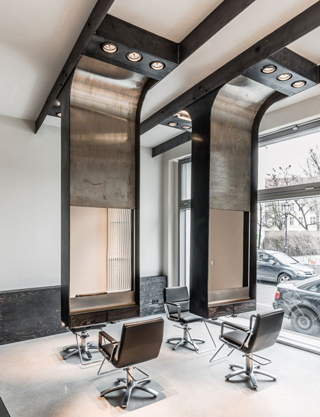 15 ideas for a stylish beauty salon