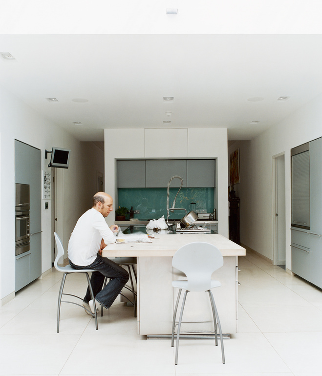 brenner house kitchen portrait Modern Extension to a Victorian House