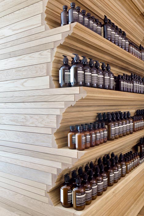 dezeen Aesop Newbury Street by William O Brien Jr 1 15 Ideas For A Stylish Beauty Salon
