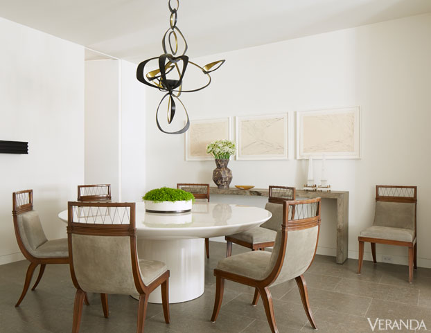 VER richard hallberg boston dining room de Calm and Serene Apartment in Boston