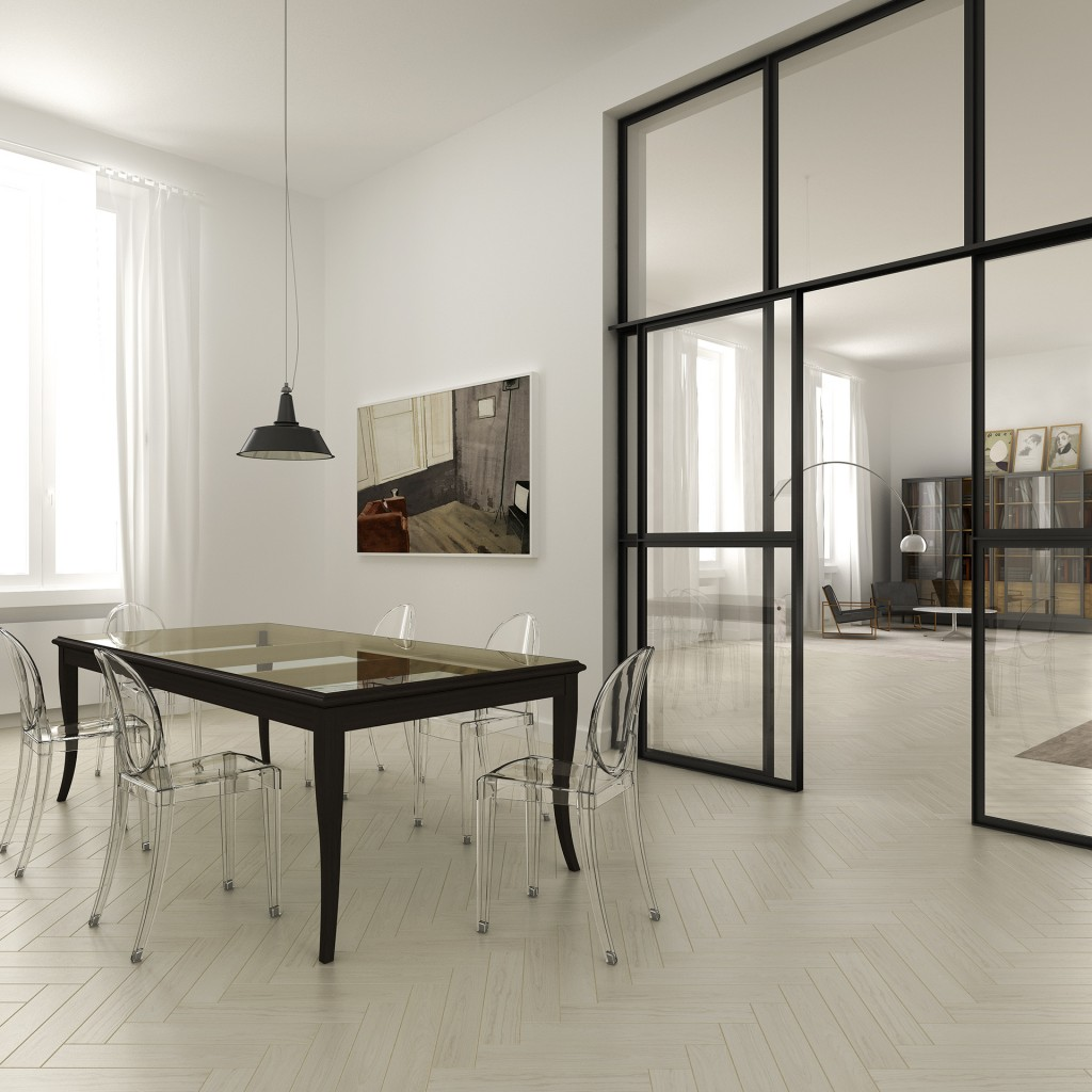 florence dining 1024x1024 Space Expansion Of Filippo Carandini