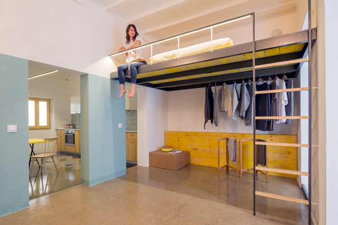 groc 011 Apartments In Barcelona by Spanish Studio Nook Architects