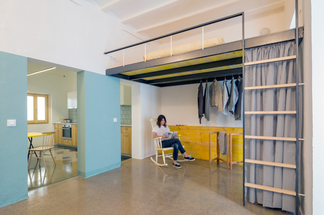 groc 021 Apartments In Barcelona by Spanish Studio Nook Architects