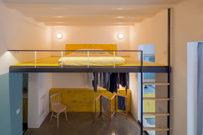 groc 031 Apartments In Barcelona by Spanish Studio Nook Architects