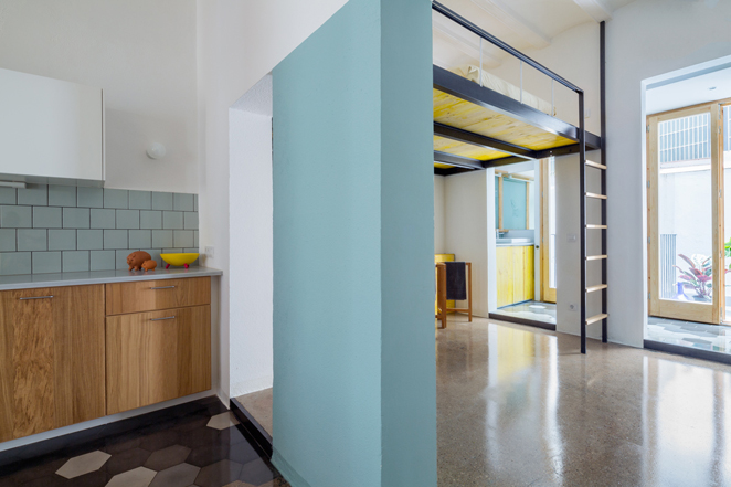 groc 091 Apartments In Barcelona by Spanish Studio Nook Architects