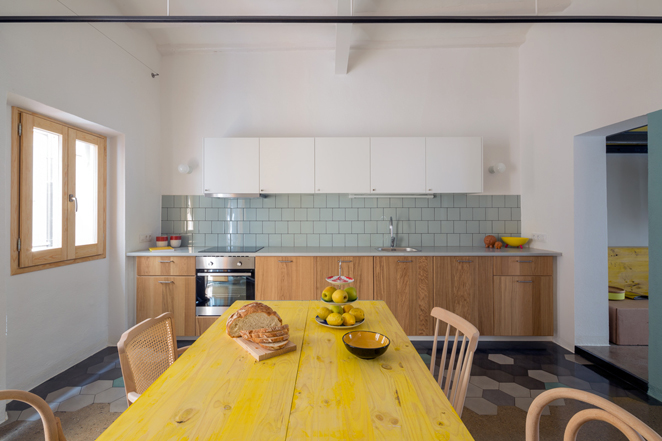 groc 151 Apartments In Barcelona by Spanish Studio Nook Architects