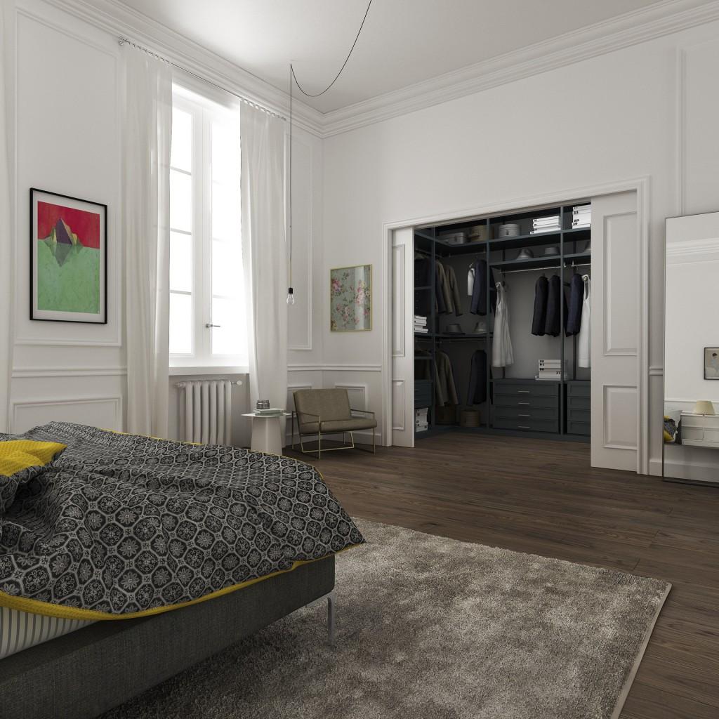 hamburg bedroom 2 1024x1024 Space Expansion Of Filippo Carandini