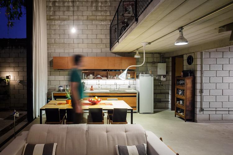 Fabuloso Casas Em Blocos De Concreto. Casa Smpw Lab Casas Industriais Por  OC78