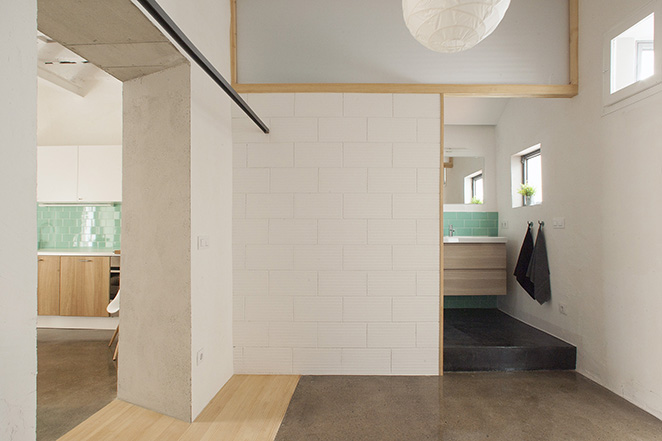 twin081 Apartments In Barcelona by Spanish Studio Nook Architects