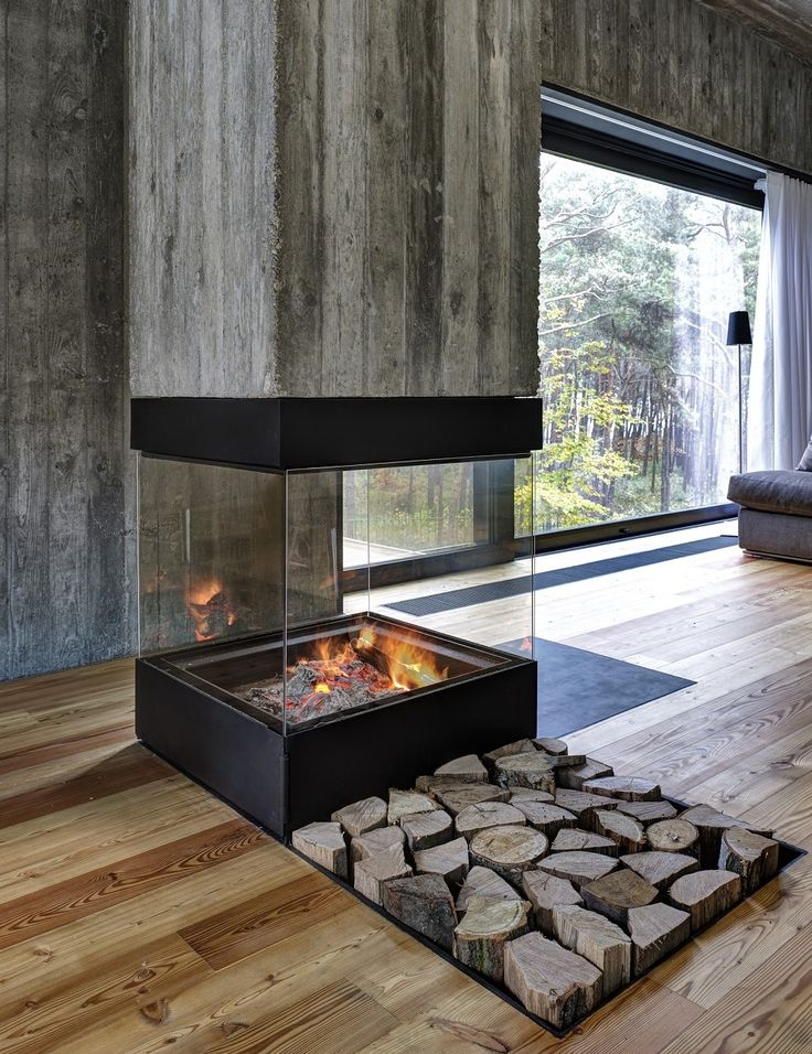 Fireplace Design fireplace with wood storage : Firewood Storage Solutions