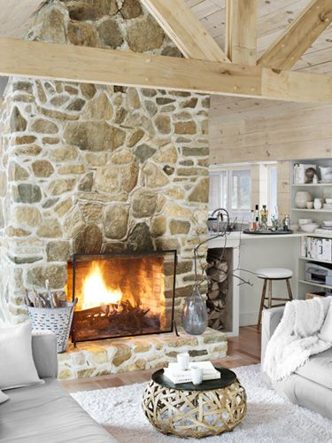 Rough Stone Wall Ideas