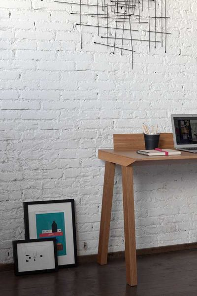 Ernest Desk – a minimalist office desk by designer Borja Garcia