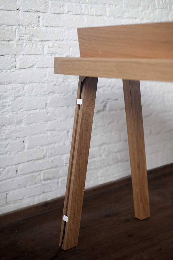 %name Ernest Desk   a minimalist office desk by designer Borja Garcia