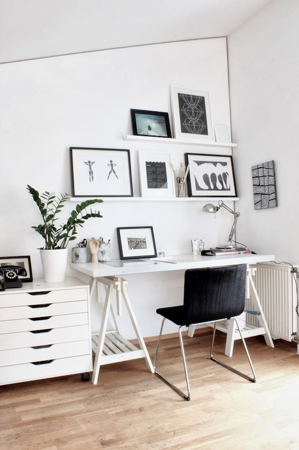 Home Office: How To Create A Scandinavian Feeling