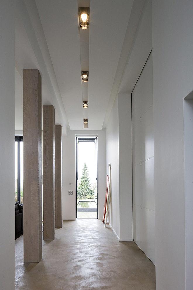 005 modern home guillaume da silva Modern minimalism in France