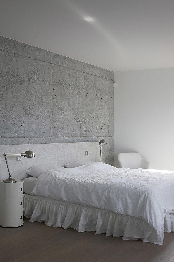 009 modern home guillaume da silva Modern minimalism in France