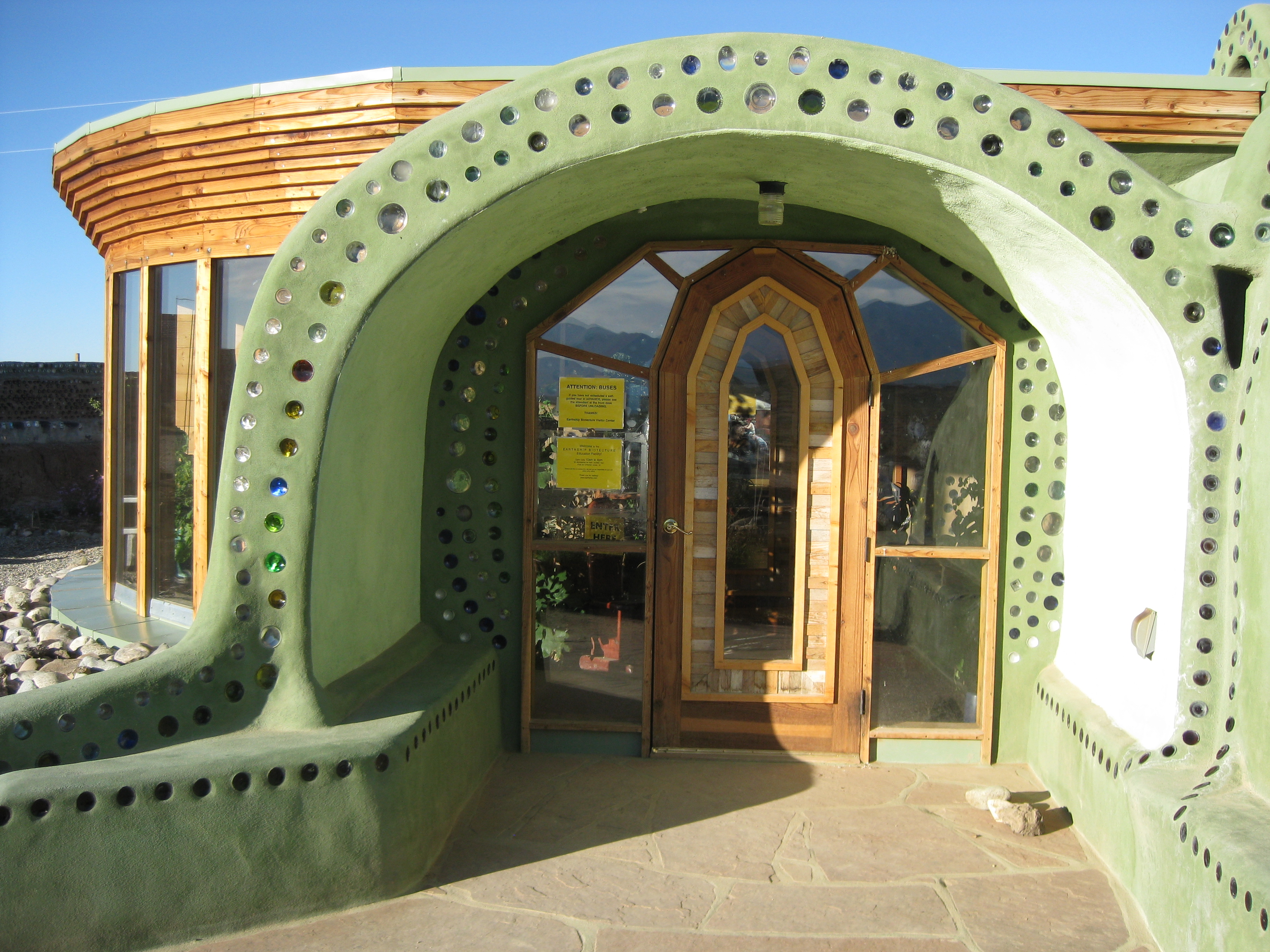 Sutainable Living: Earthships - Your No.1 source of Architecture and on free trees designs, free architecture designs, free timber frame designs, free green designs, free straw bale house designs, free permaculture designs, free energy designs, free building designs,