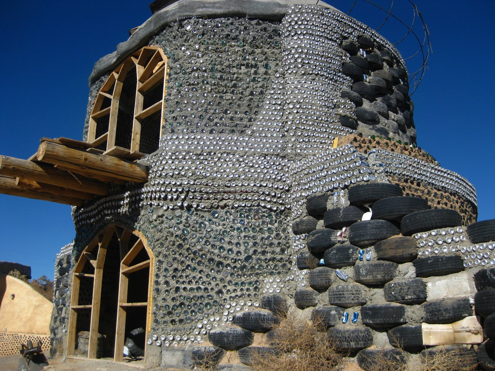 Sutainable Living Earthships