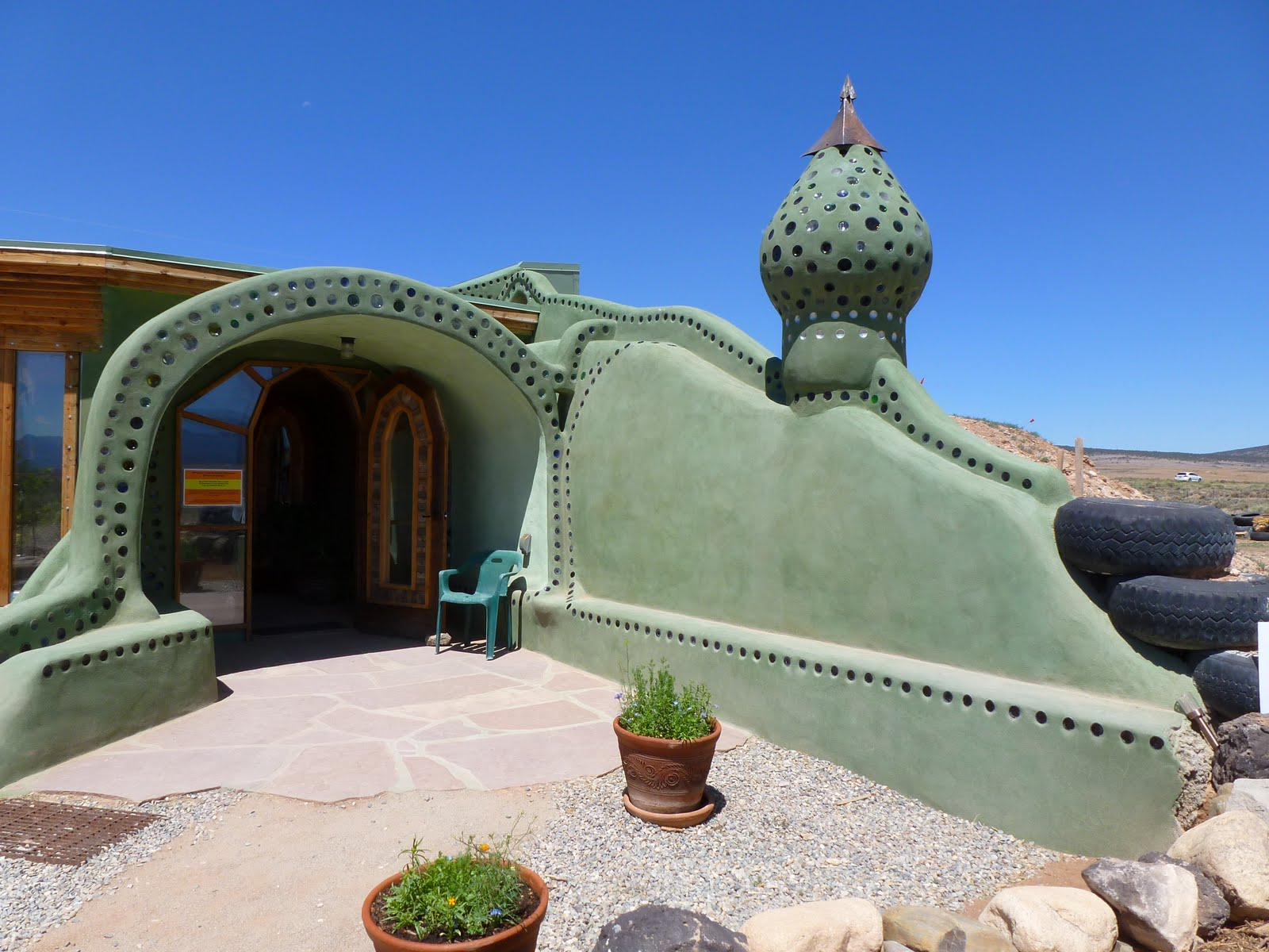 Sutainable Living Earthships on Modern Architecture Mexico