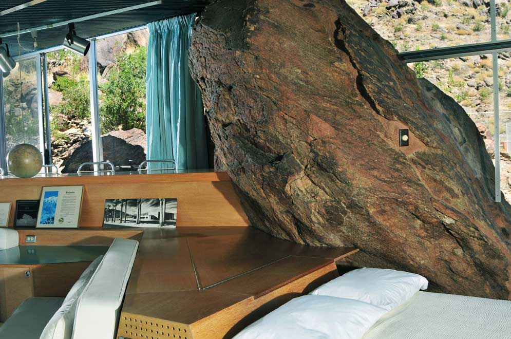Back To The Future Mid Century And Rocks In The Palm Springs