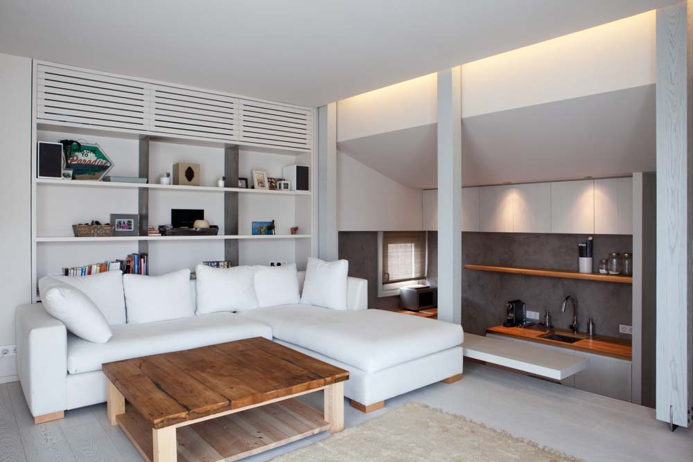 2 Minimalistic Penthouse in Barcelona