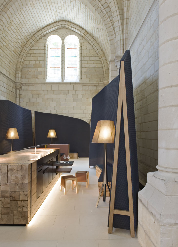 6 agence jouin manku abbaye de fontevraud photo nicolas matheus yatzer Fontevraud Abbey Hotel