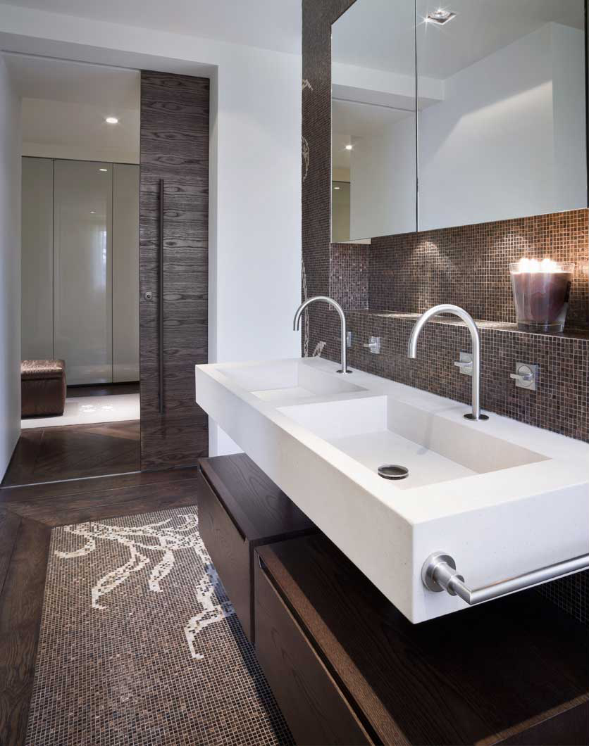 herts home bathroom 111 Hertfordshire Home by Alessandro Isola