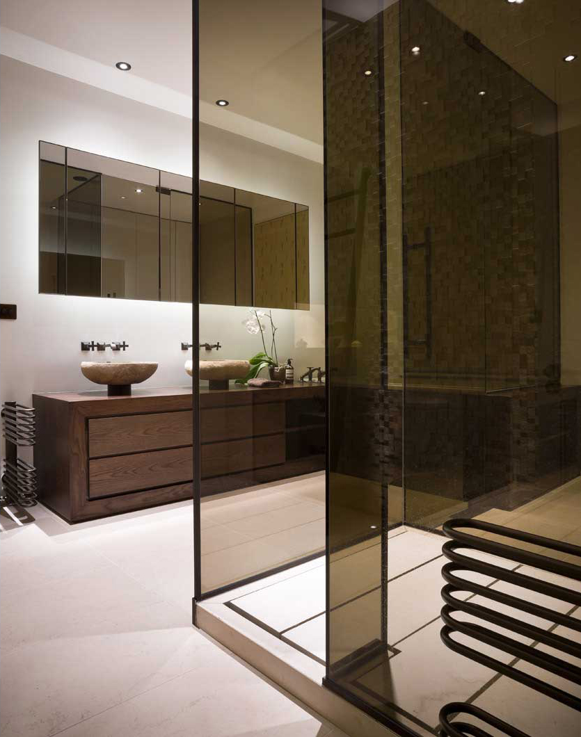 herts home bathroom 152 Hertfordshire Home by Alessandro Isola