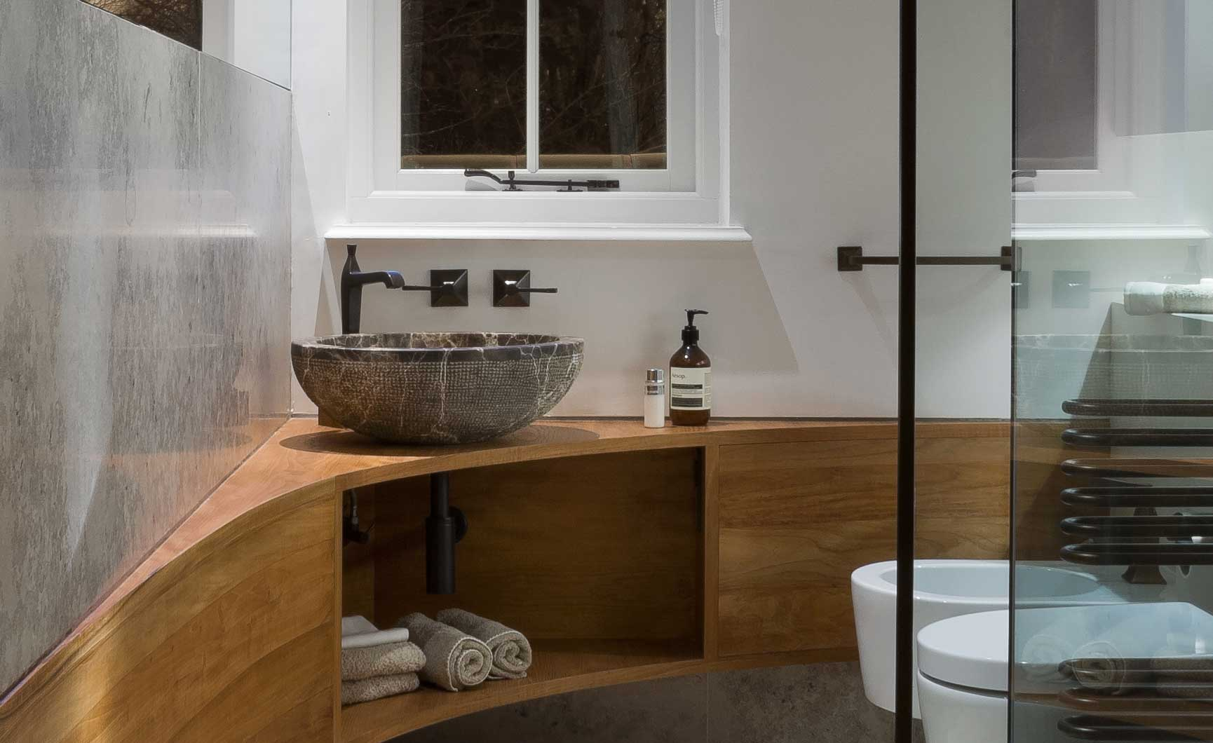 herts home bathroom 5 Hertfordshire Home by Alessandro Isola