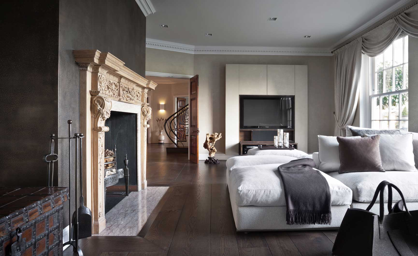 herts home living 6 Hertfordshire Home by Alessandro Isola