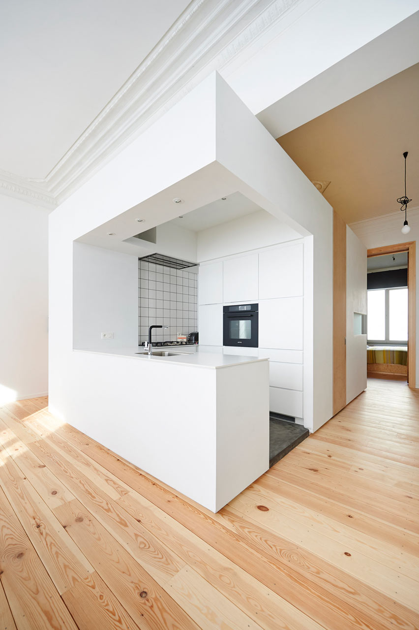 Apt Kitchen Renovations: Renovated Apartment In Brussels