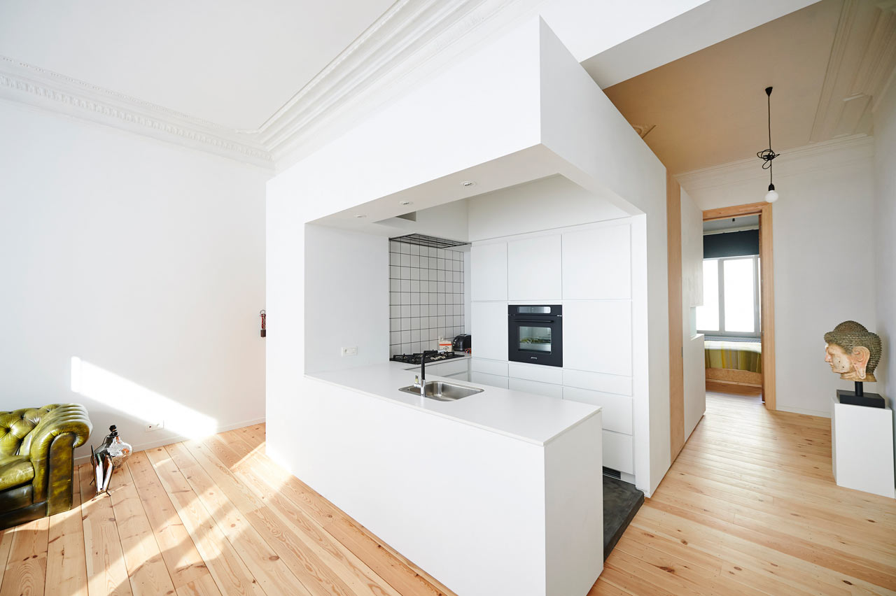 Http Notapaperhouse Com Renovated Apartment In Brussels