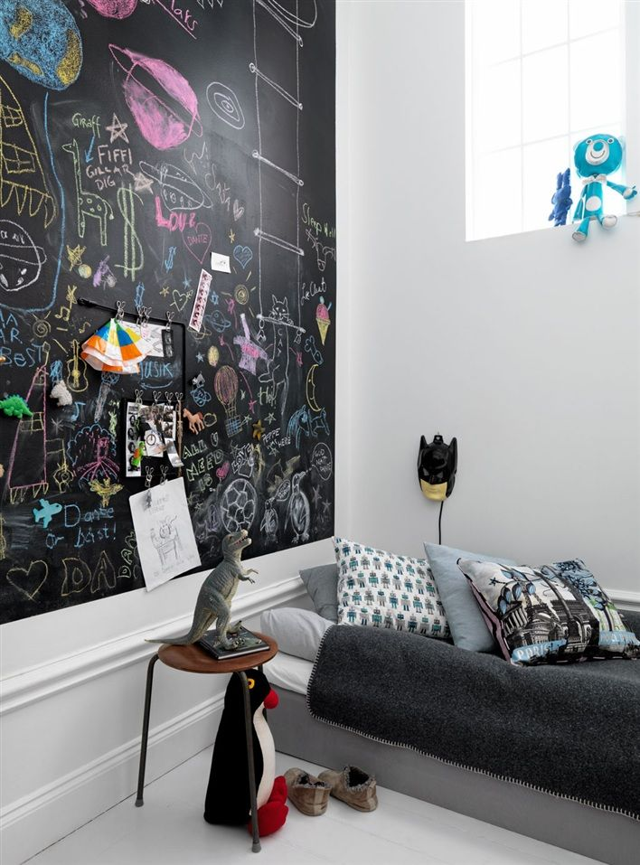 bedroom chalkboard 32 Chalkboard Decor Ideas