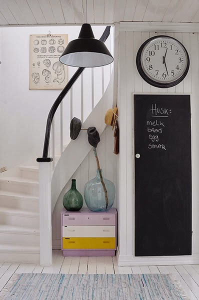 chalkboard door 32 Chalkboard Decor Ideas