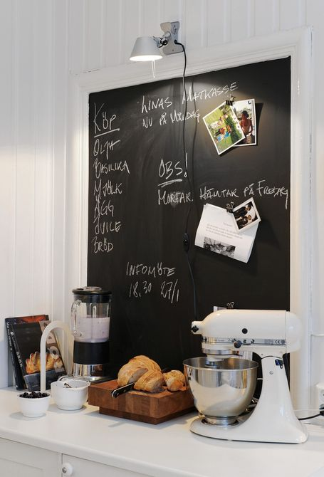 kitchen blackboard ideas 32 Chalkboard Decor Ideas