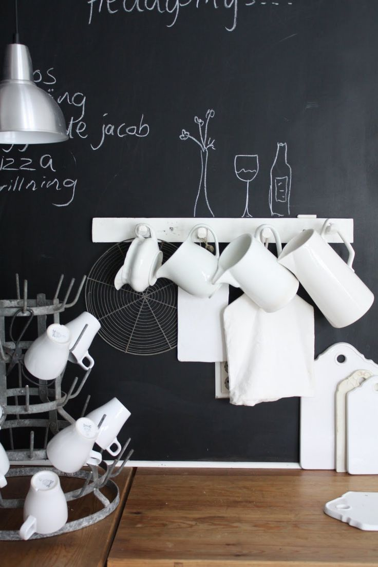 kitchen blackboard 32 Chalkboard Decor Ideas