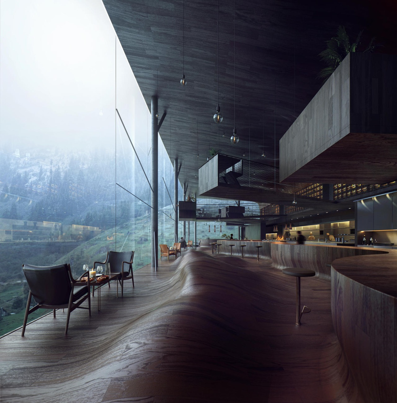 restaurant by jensen skodvin architects Tumblr Collection #13