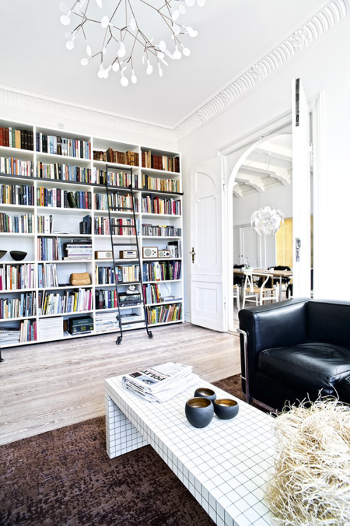 spacious white apartment Tumblr Collection #14