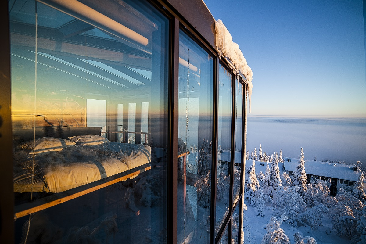 the eagles view suite finland 2 10 Most Amazing Treehouse Hotels From Which You Would Never Wish To Check Out