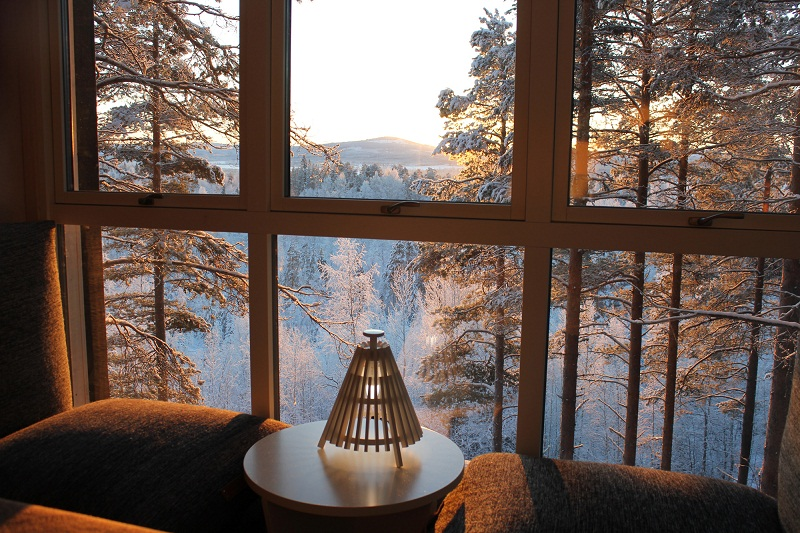 treehotel sweden 2 10 Most Amazing Treehouse Hotels From Which You Would Never Wish To Check Out