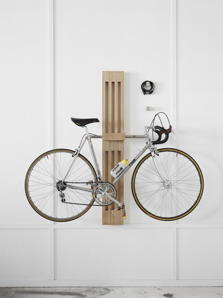 wooden bicycle storage rack Bike Storage Ideas: 30 Creative Ways of Storing Bike Inside your Home