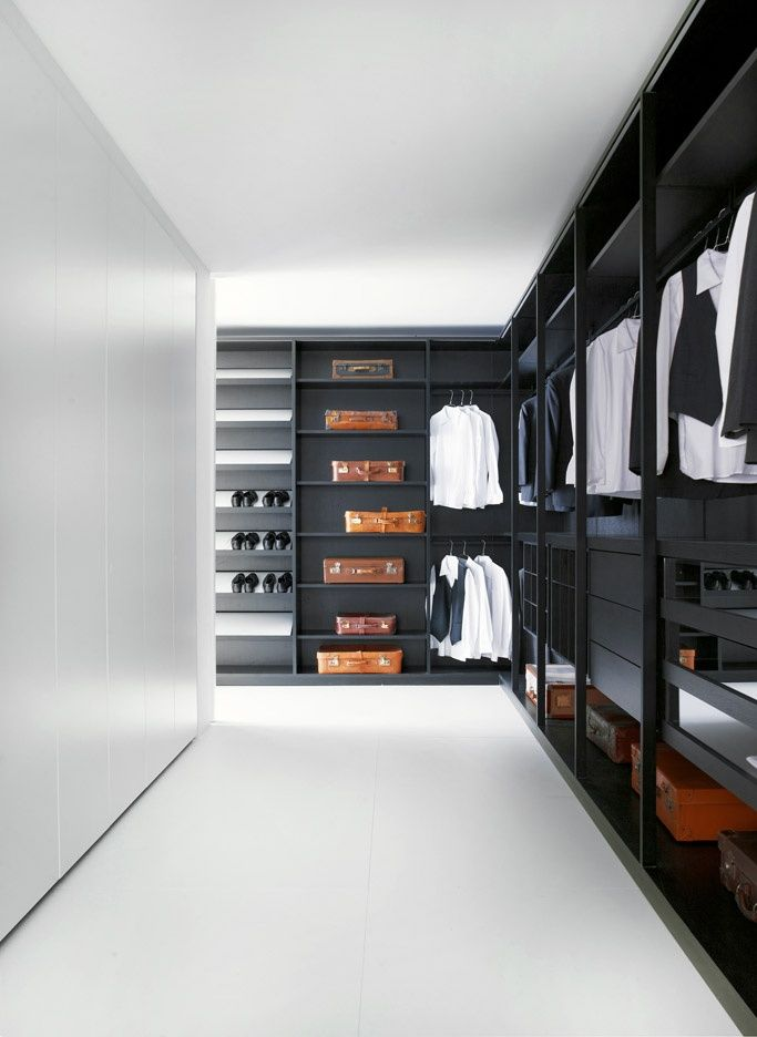 Beau Closet29 Top 40 Modern Walk In Closets